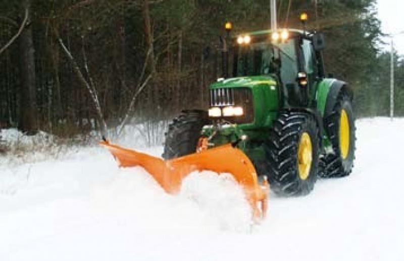 Lama de zapada tractor tip AlpS