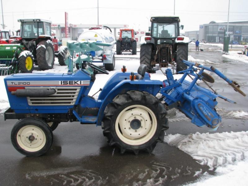 Tractor japonez Iseki TL2100
