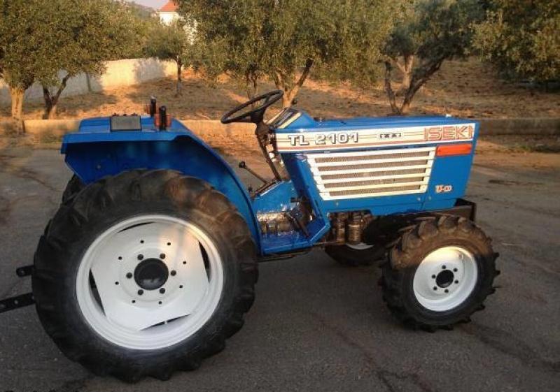 Tractor japonez Iseki TL2101