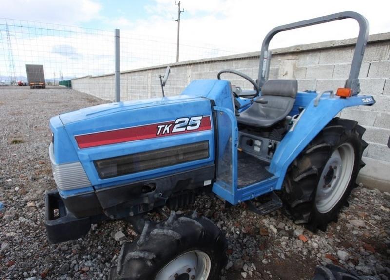 Tractor japonez Iseki TK25