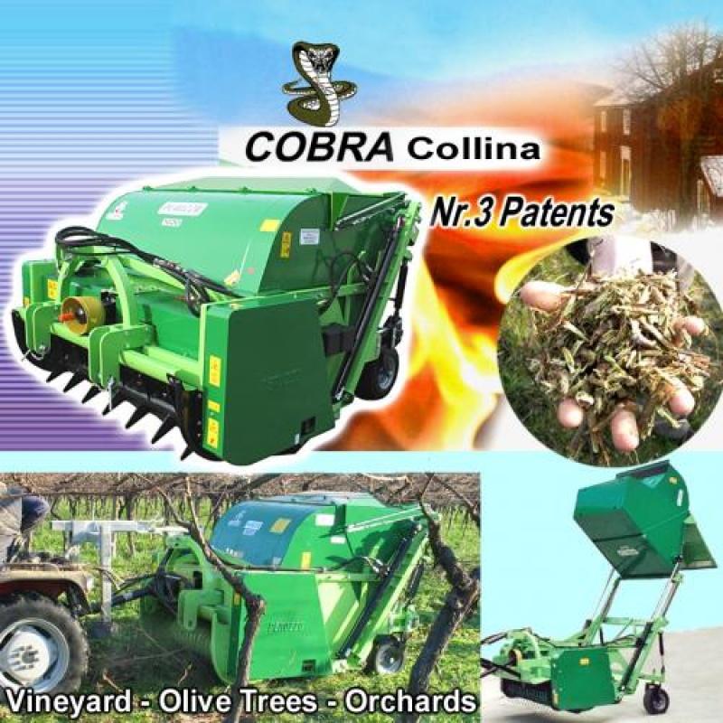 """Tocător de biomasă  ''COBRA Collina"""""""
