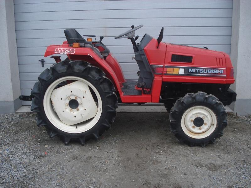 Tractor japonez Mitsubishi MT20