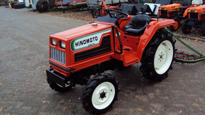 Tractor japonez Hinomoto N189