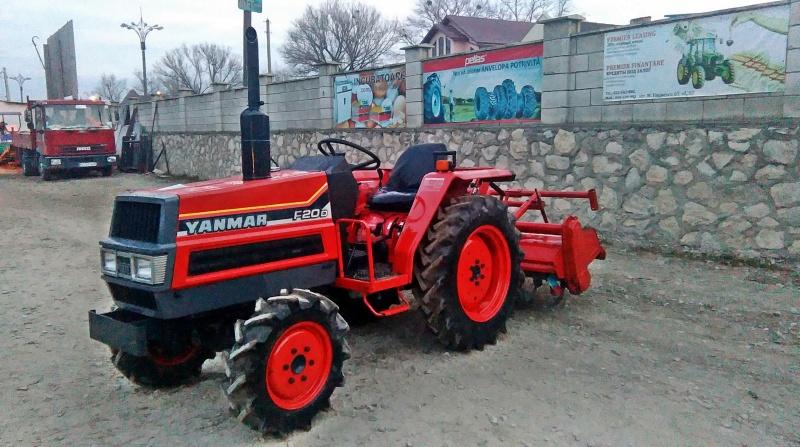 Tractor japonez Yanmar F(FX)20