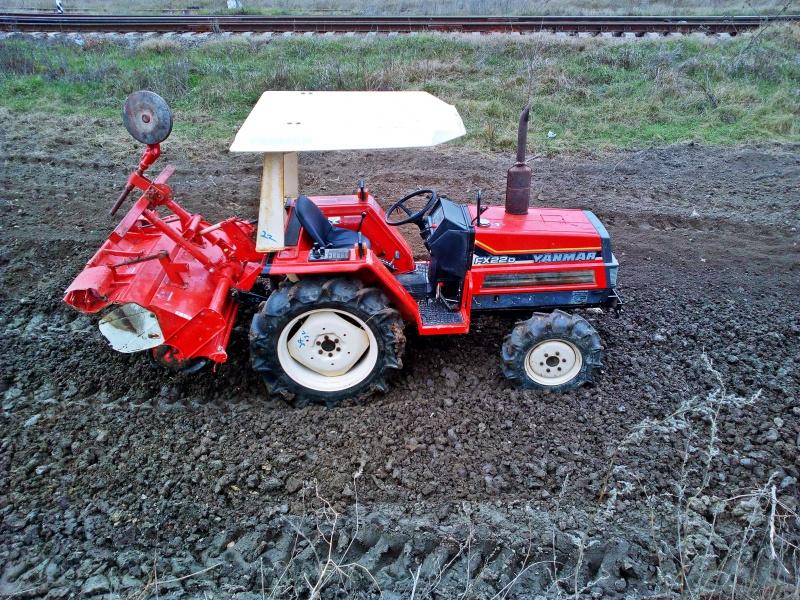 Tractor japonez Yanmar F(FX)22
