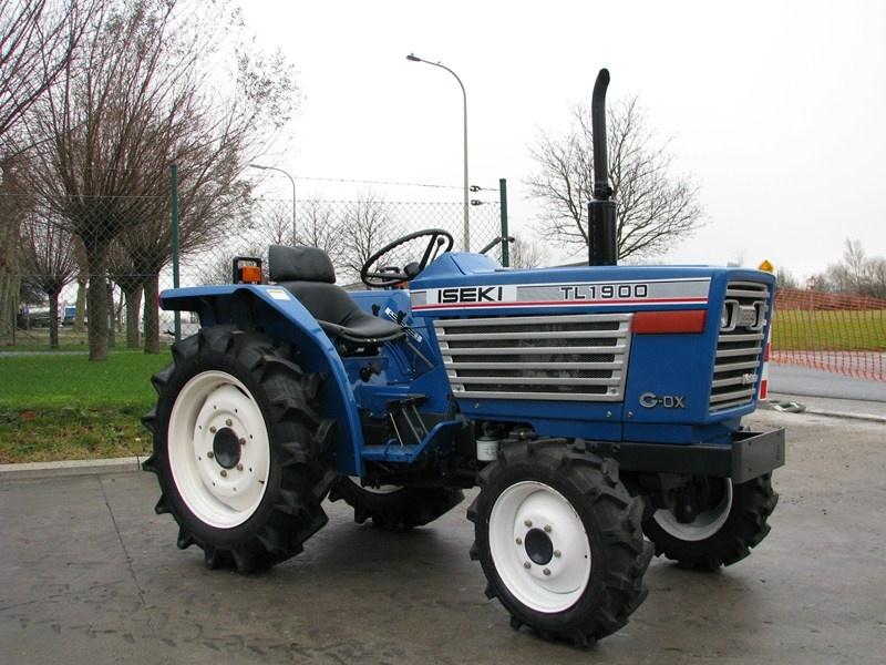 Tractor japonez Iseki TL1900
