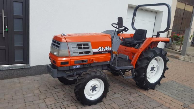 Tractor japonez Kubota GL21