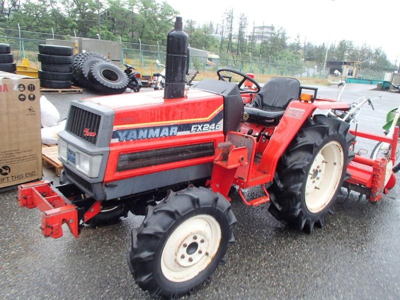 Tractor japonez Yanmar F(FX)24